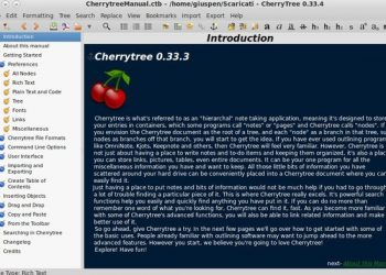 Cherrytree for Windows
