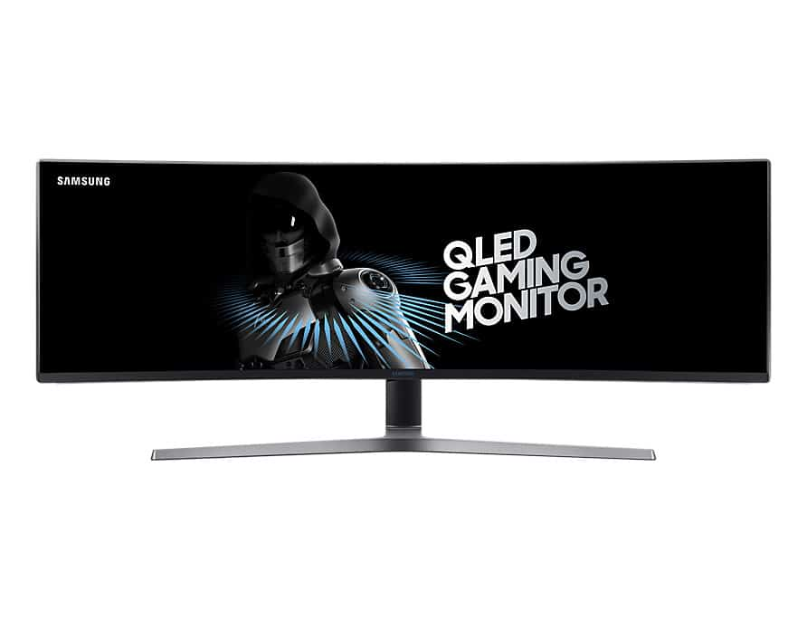 Curved Samsung CHG90 Unique Gaming Monitor