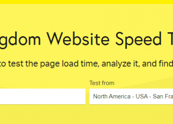pingdom test speed