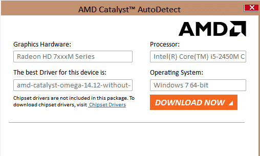 Amd driver autodetect tool