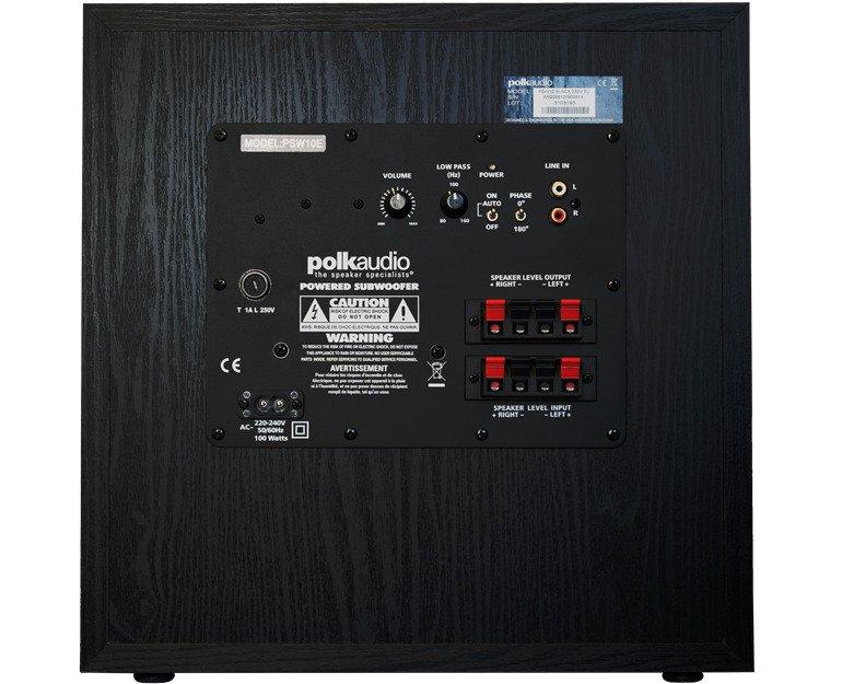 Polk Audio PSW10e (Black) Subwoofer