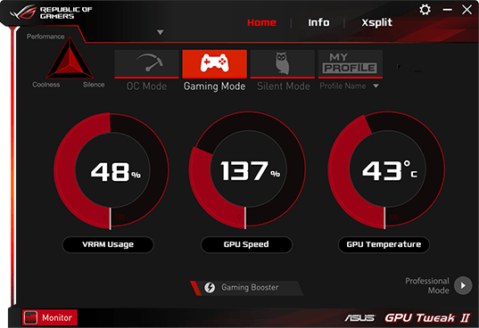 ASUS GPU Tweak II