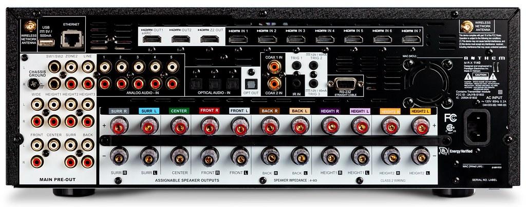 Anthem MRX 740 amplifier