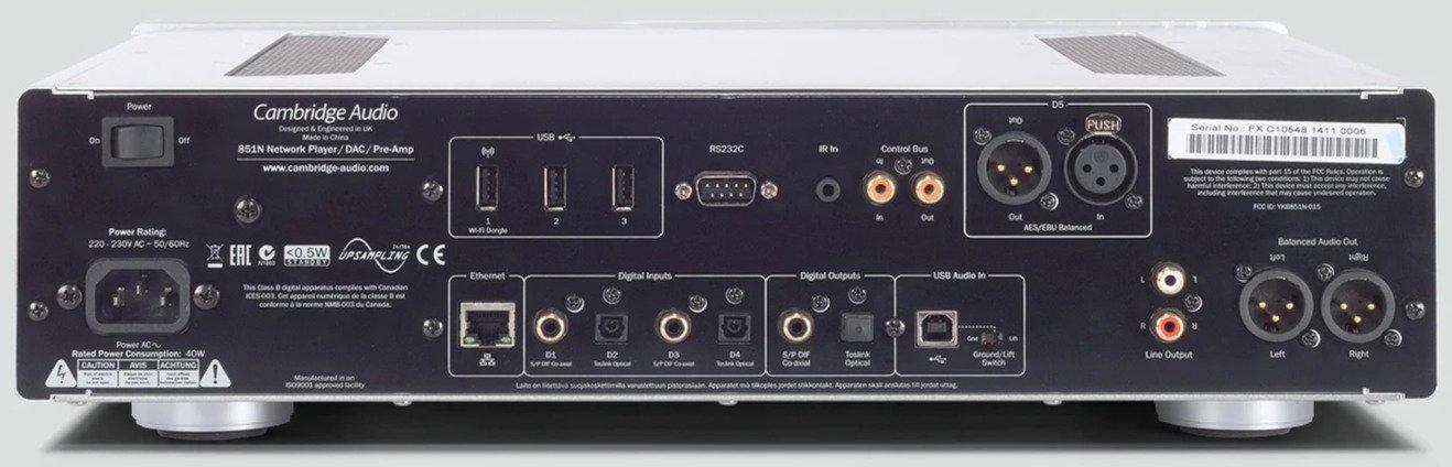 Cambridge Azur 851N network player