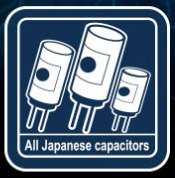 High quality construction with all Japanese capacitors