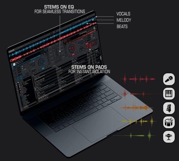 Virtual DJ mixing software